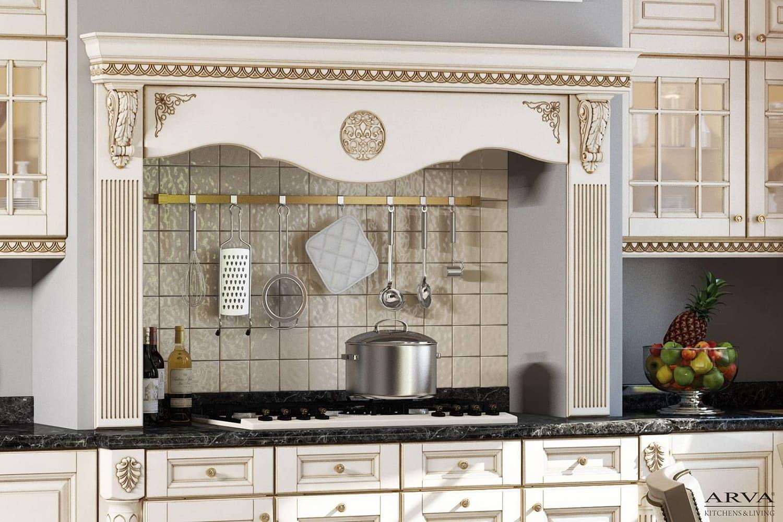 кухни цвет магнолия патиной золото фото есть мало развлечении